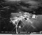 Aerial view of University of Alaska in 1941