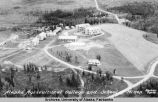 Aerial view of campus in 1930's.