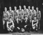 Men's basketball team - 1936-1937
