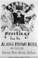 Greeting card from the 4th division of the Highway Patrol
