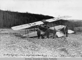 Landing engineers & sec. on 300 ft. bar on Bear Paw Creek, 16 miles from Kantishna;