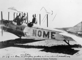 First airplane operation in Nome & Seward penisula area