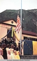 First 49 star flag raising in Juneau, Alaska