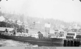 View of harbor at Ketchikan