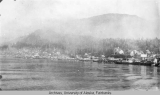 View of Ketchikan from steamer
