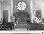 Interior of St. Luke's Church, Douglass Island.