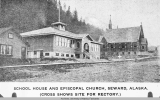 School House and Episcopal Church, Seward, Alaska