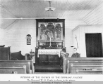 Interior of the Church of the Epiphany, Valdez