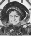 Child at Fort Yukon, Alaska