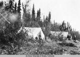 Camp at Lake Tinder [Linder?].