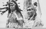 Chief Thomas and wife.