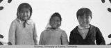 Three children of Salchaket Village, Alaska