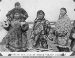 Siberian Eskimos in their  glad  clothes