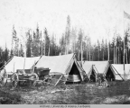 Construction camp at Salcha Telegraph station-July 1912