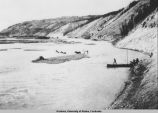 1907 Crossing Copper River.