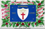 Christ child flag.