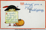 Wishing you a joyful Thanksgiving.