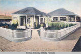 Residence of F. M. Dunham, Fairbanks, Alaska.