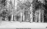 Totem poles and house posts.