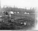 Camp at McCarty station
