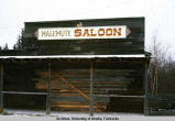 Malemute Saloon closed for winter.