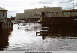 Fairbanks, during the flood of 1967.