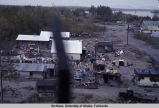 Nenana houses along Tanana [River] Alaska.