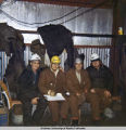 Inspectors on Surfcote job, 1971.