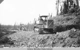 June 1931. Coarse gravel at mile 49.1 Gulkana-Chisana road. Chitina District. R65C.