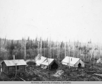 Construction camp at Overland Road-house