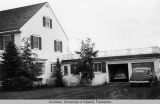 Fairbanks Exploration Co.'s Managers house about 1947.  (Title corrected)