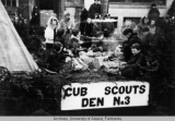 Cub Scouts Den no. 3 float.