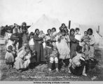 Women and children from Teller, Alaska.