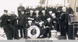 Sailors on board U.S.C.R. Bear.