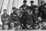 "Sailors on deck of ""Bear."""
