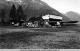 Bob's ships at Valdez airport, 1937.
