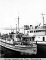 Floating clinic ships, late 1940's.