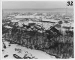 Aerial view of Anchorage, 28 March 1964.