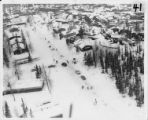 Aerial view of Turnagain neighborhood, 28 March 1964.