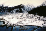 Town of Seward Alaska taken from an H-21 in 1963.
