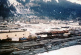Town of Seward Alaska, taken from an H-21 on Easter Sunday 1964.