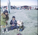 Children at Point Hope Whaling Festival.