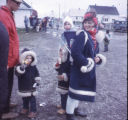 Woman with three children, Kotzebue.