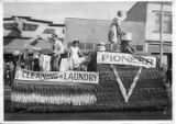 Pioneer Cleaning and Laundry Float, 4th of July Parade.