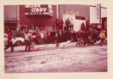 Dog sled races in Anchorage. 1963.