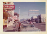 More of 4th Ave. The downtown of Anchorage. 1963