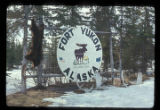 Fort Yukon Alaska sign.