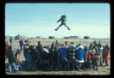 Blanket toss at the Point Hope Whale Festival, circa 1972,