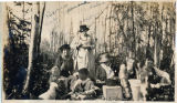 Picnic, Lake Spenard, Alaska.