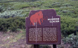Muldrow Glacier sign.